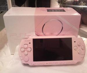 pink, game, and psp image