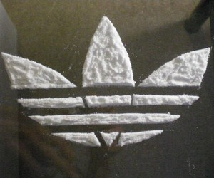 adidas, drugs, and cocaine image