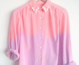 fashion, pink, and shirt image