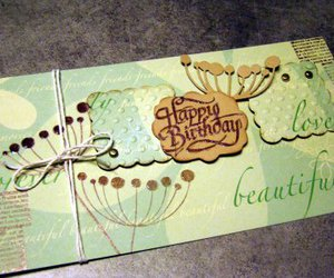 birthday card, scrapbooking, and craft image
