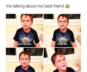 funny, best friends, and true image