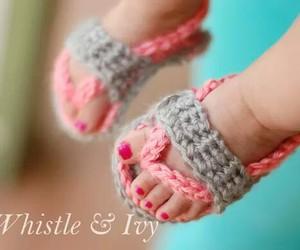 baby, crochet, and diy image