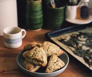 poppy seed, scones, and tangerine image