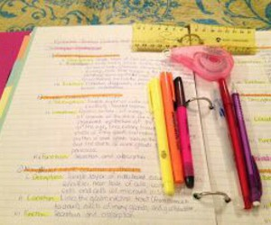 highlight, study, and supplies image