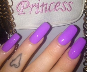 nails, beauty, and princess image