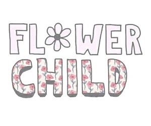 flowers, overlay, and child image
