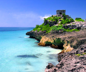 mexico, tulum, and beach image