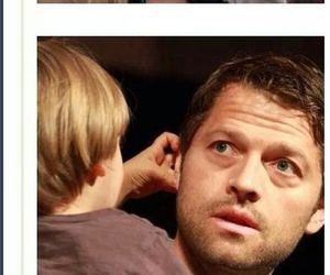adorable, misha collins, and west collins image