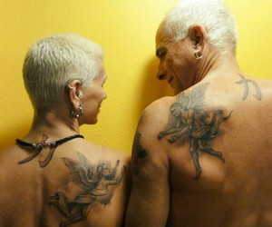 Tattoos, love, and getting elderly image