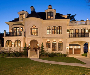 luxury, mansion, and rich houses image
