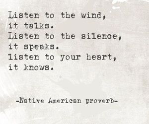 quotes, heart, and silence image
