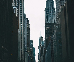 city, grunge, and pale image