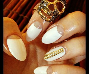 Easy, nails art, and pointy nails image