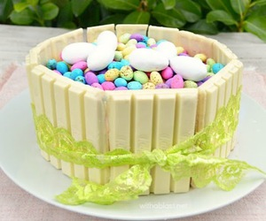 cake, diy, and easter cake image