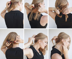 hair, tutorial, and girl image