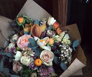 bouquet, flowers, and suprise image