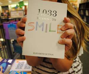 smile and book image