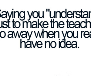 school, quote, and funny image