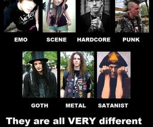 black, different, and emo image