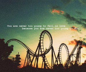 life, young, and quotes image