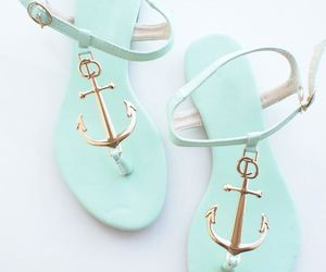 shoes, anchor, and sandals image