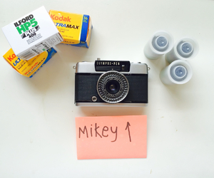 Film Photography, mikey, and slr image