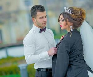 couple, wedding day, and azerbaijan image