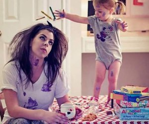 baby, funny, and girl image