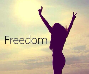 freedom, free, and peace image