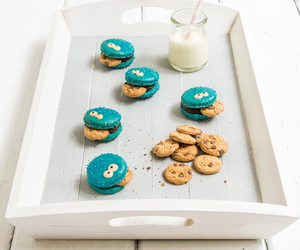 Cookies, food, and cookie monster image