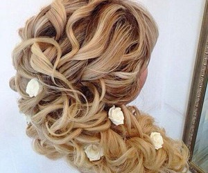 beautiful, curls, and luxury image