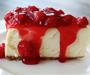 cheesecake, delicious, and cake image