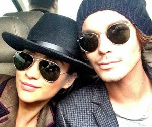 shay mitchell, tyler blackburn, and pretty little liars image