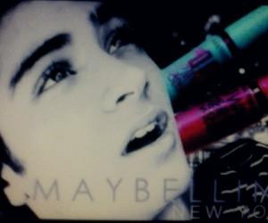 eyelashes, Maybelline, and zayn malik image