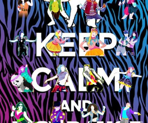 game, just dance, and keep image