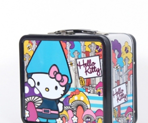 HelloKitty, lunchbox, and gnome image