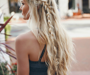 amber, girl, and hairstyle image