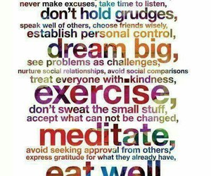 happy, meditate, and quotes image