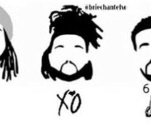 Drake, ovo, and partynextdoor image