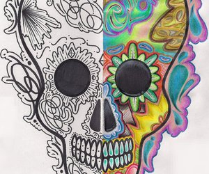 colors, draw, and skull image