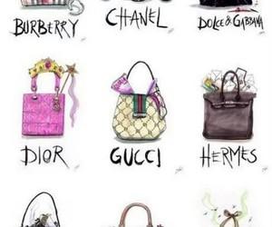 bag, chanel, and dior image
