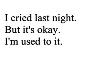 cry, sad, and night image