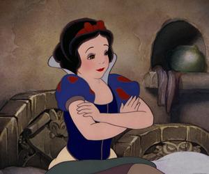 animation, disney princess, and snow white image