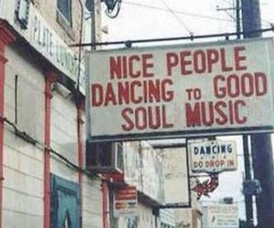 music, people, and vintage image