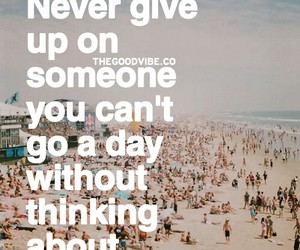 give, never, and overthinkers image