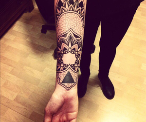 tattoo, ink, and black image