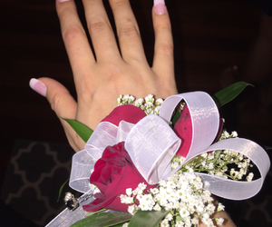 bouquet, corsage, and formal image