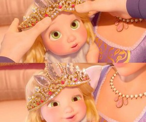 babies, disney, and tangled image