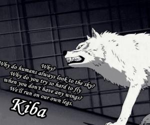 kiba, wolf, and wolf's rain image