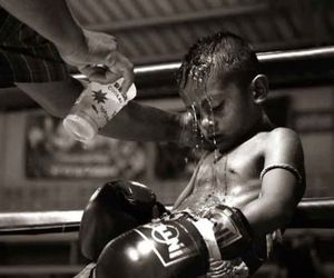 boy, boxing, and kid image